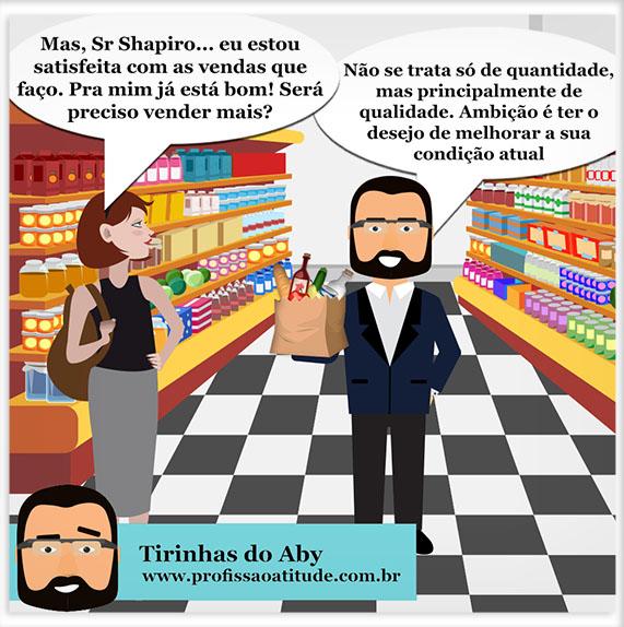TIRINHAS DO ABY # 4 - AMBIÇÃO