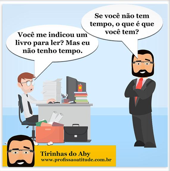 TIRINHAS DO ABY # 3 - TER TEMPO