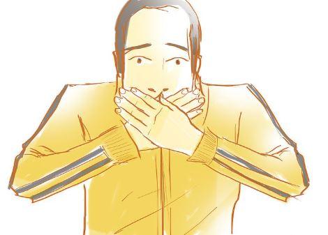 Pare de utilizar expressões fortes na sua fala