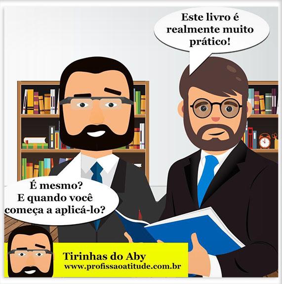 TIRINHA DO ABY # 2 - TOME UMA ATITUDE