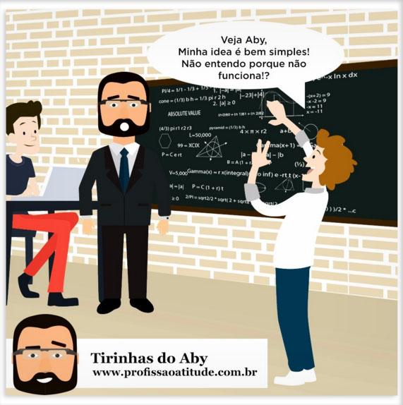 TIRINHA DO ABY # 1 - SIMPLICIDADE