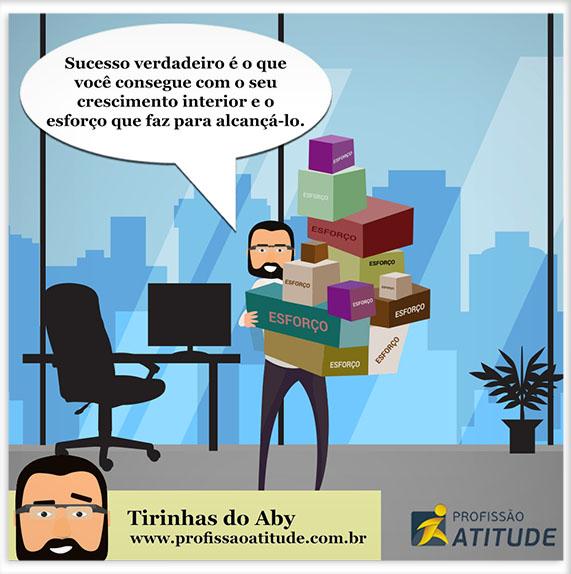 TIRINHAS DO ABY #6 - ESFORÇO