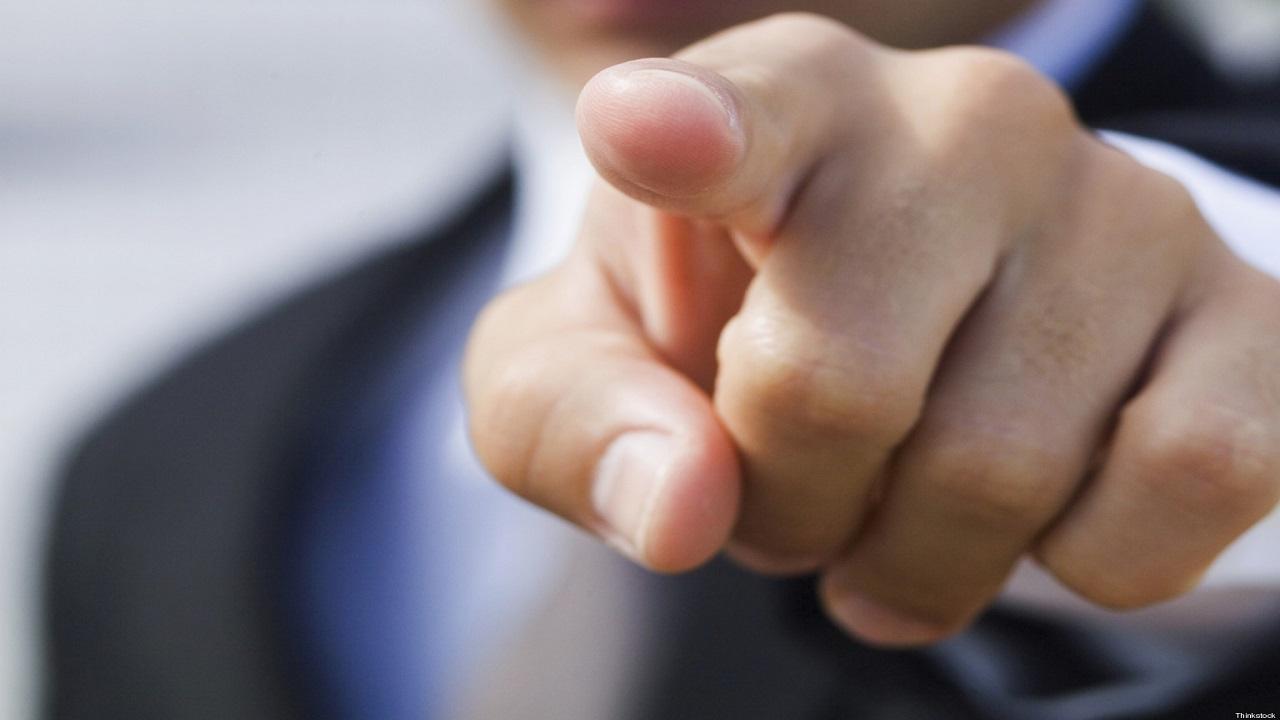O dedo-duro