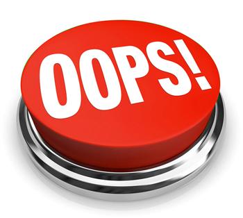 Erros e falhas: como corrigir