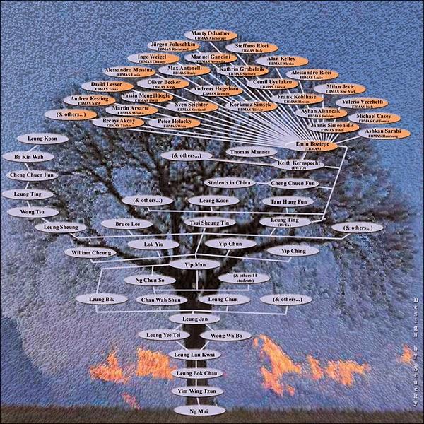 A sua árvore genealógica